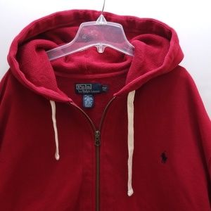 POLO RALPH LAUREN MEN'S HOODIE JACKET